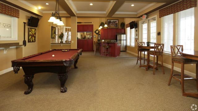 Pool table of Integra Woods in Palm Coast