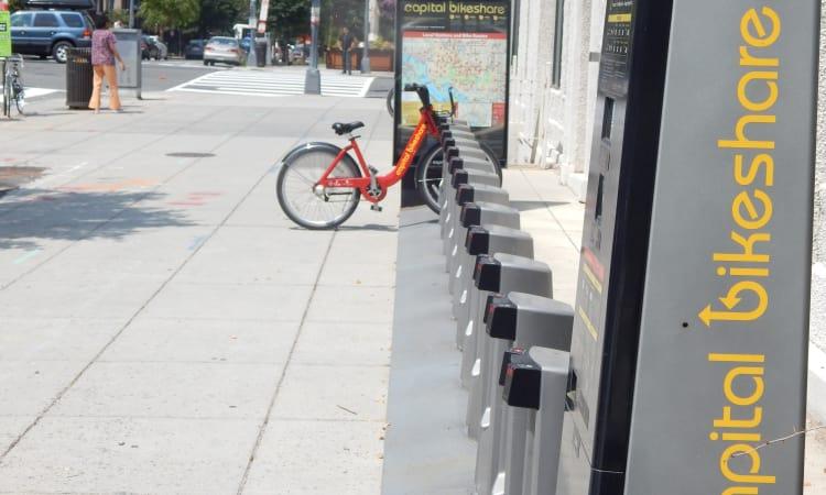 DC Bikeshare at R Street