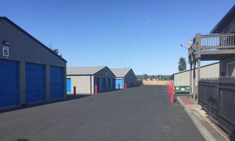 Arlington, Washington storage facility storage units at Glacier West Self Storage