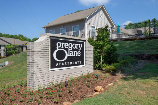 Gregory Lane apartments in Acworth, Georgia