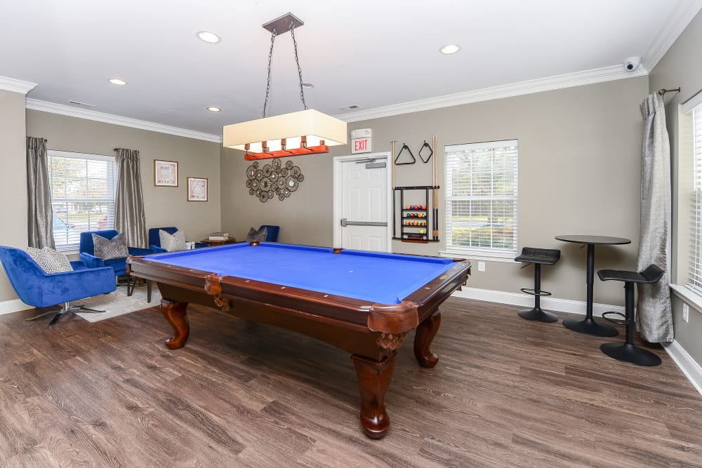 Our Apartments in King of Prussia, Pennsylvania offer a Clubhouse with a Pool Table