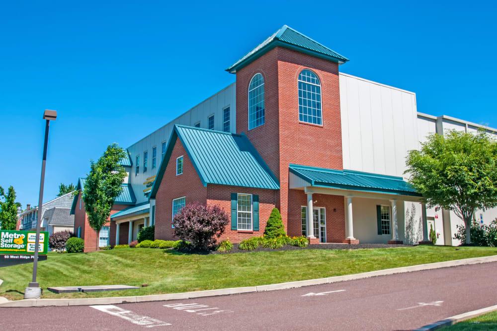 Facility exterior view at Metro Self Storage in Limerick, Pennsylvania