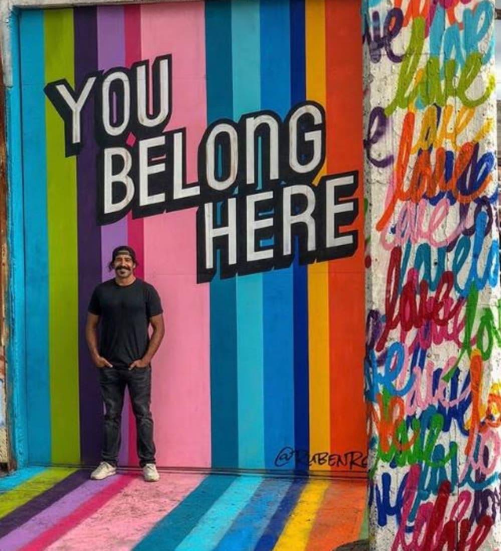 Ambassador Ruben Rojas at StorQuest Self Storage in Santa Monica, CA