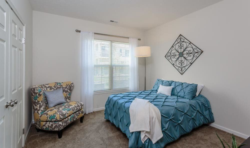 Bedroom at Auburn Creek Apartments home