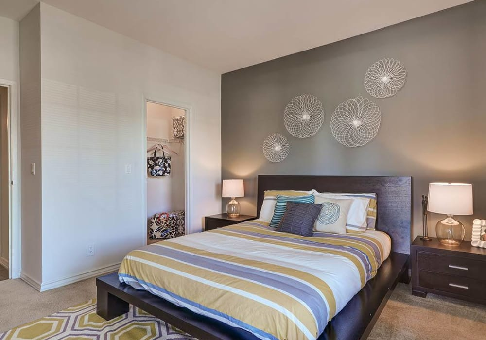 Bedroom at Sierra Del Oro Apartments in Corona,CA