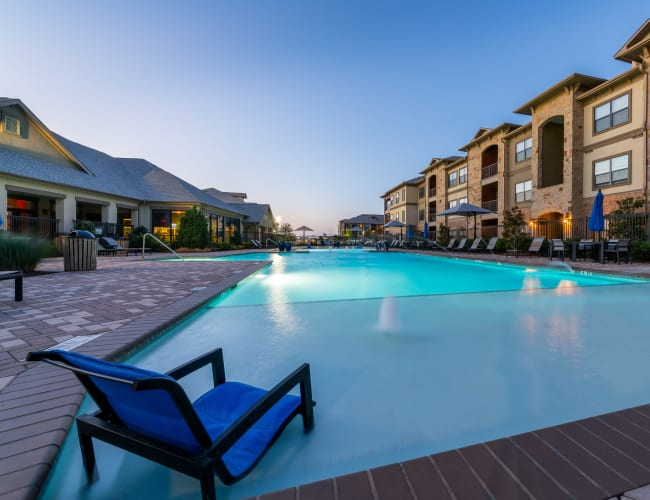 Pool for residents at Sorrel Phillips Creek Ranch in Frisco, Texas