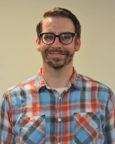 Nate Raabe, Activities Director at Deephaven Woods in Deephaven, Minnesota