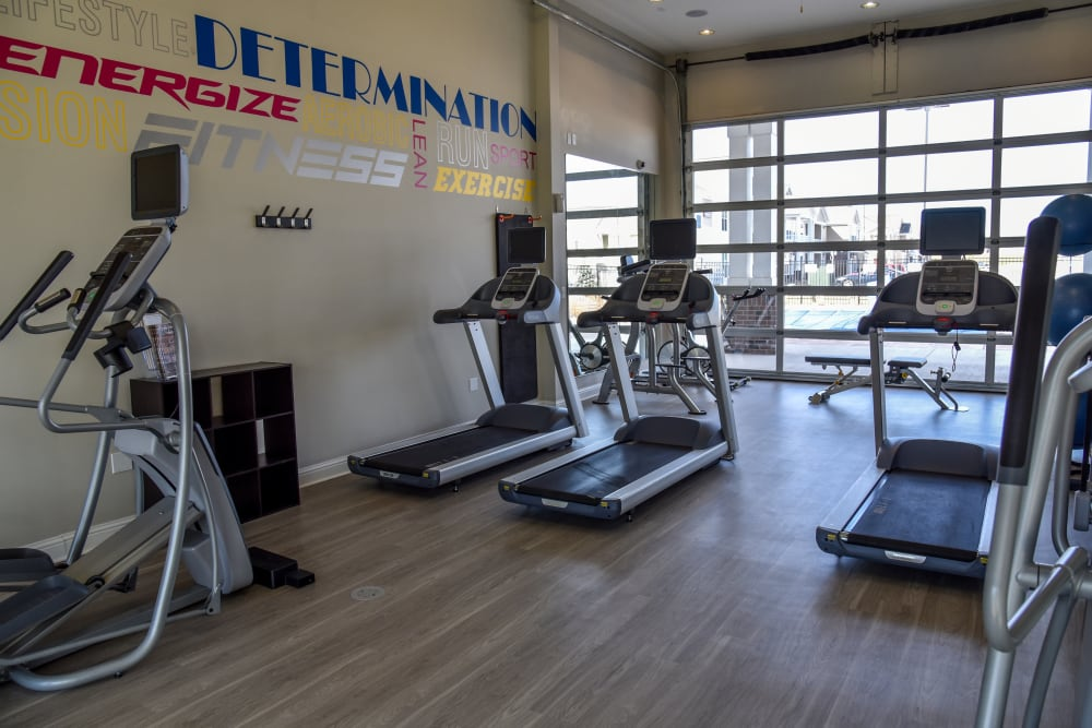 24 Hour Fitness Center with Treadmills and Free Weights at Springs at Egan Drive in Savage, MN