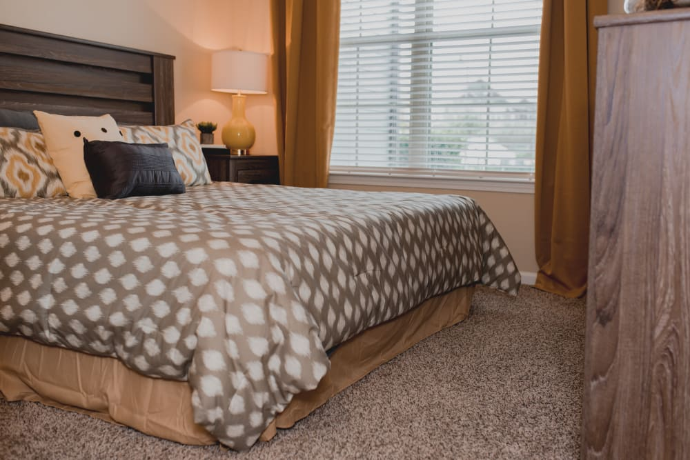 Master Bedroom at Springs at Creekside in New Braunfels, TX