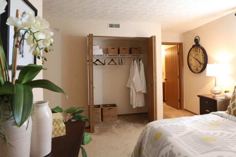 Bedroom at Enclave at Albany Park in Westerville, Ohio