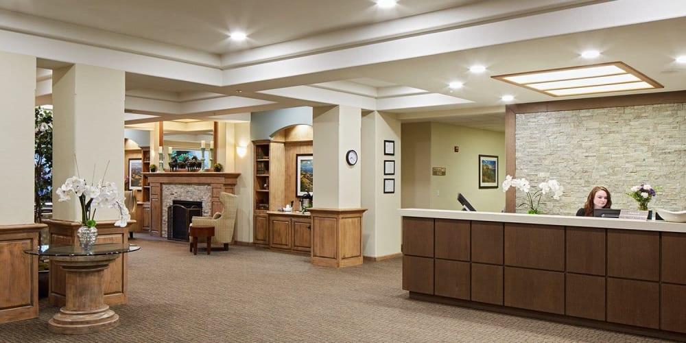 upscale senior living apartment at The Springs at Anna Maria in Medford, Oregon