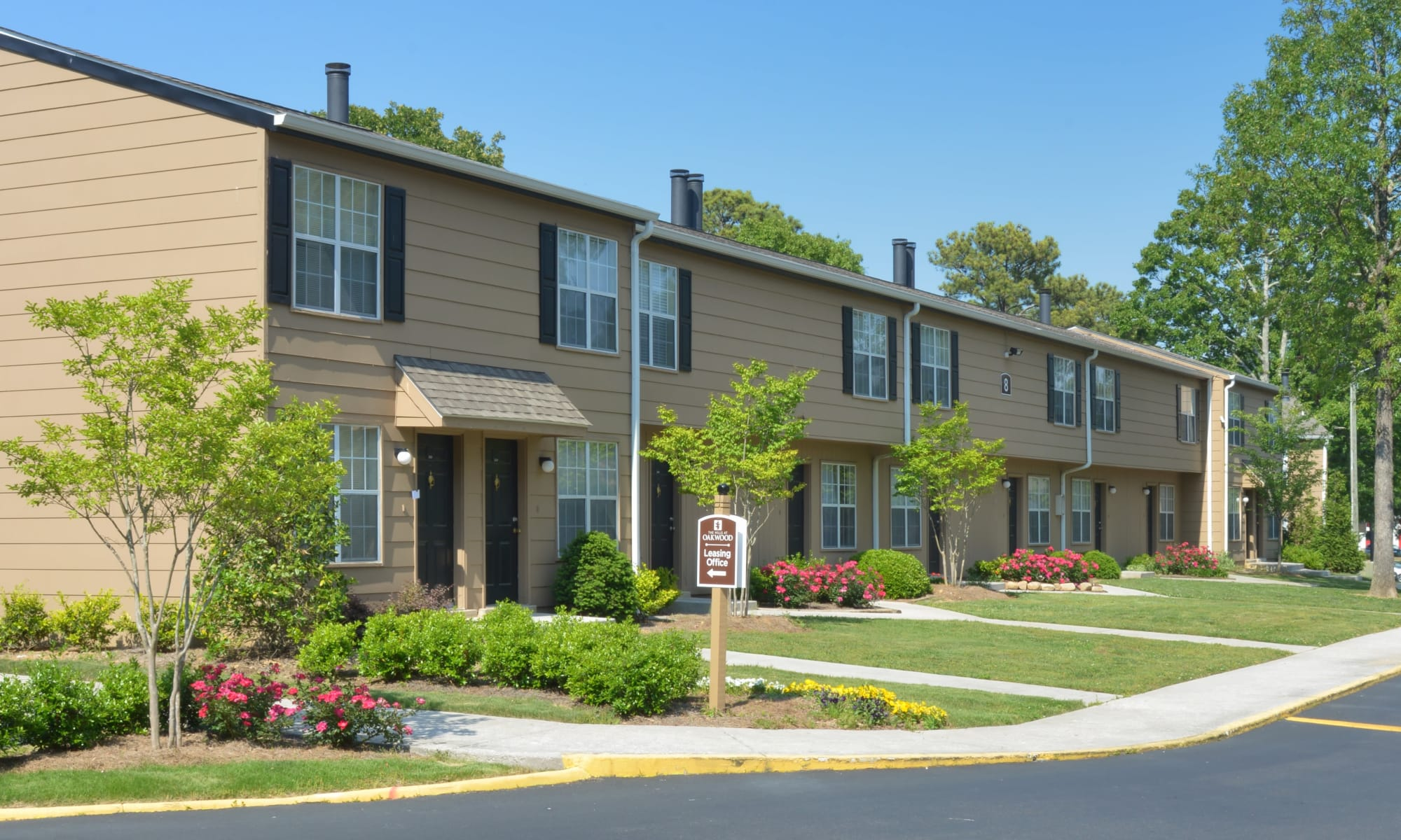 Apartments in The Hills at Oakwood Apartment Homes in Chattanooga, Tennessee