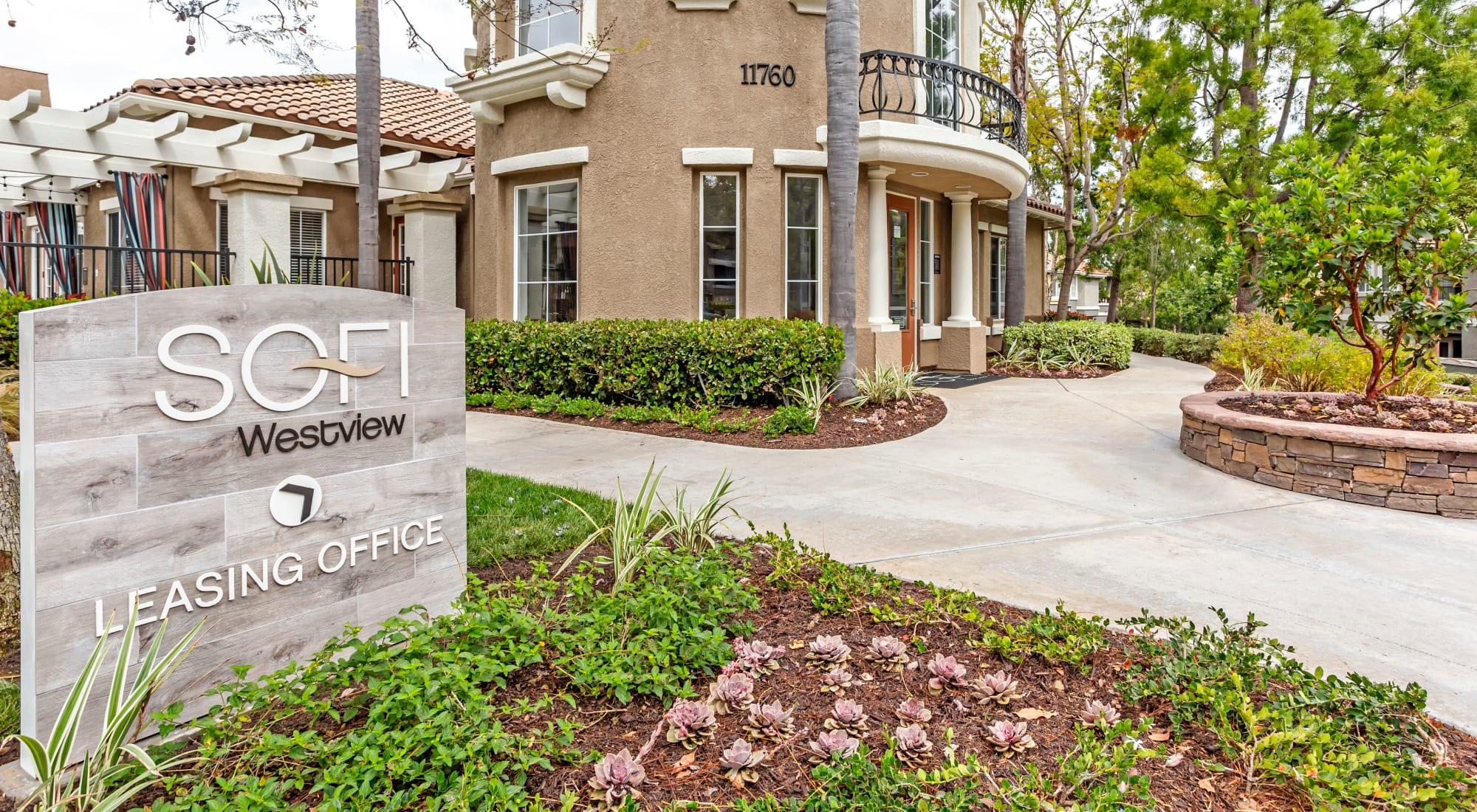 Pet-friendly apartments at Sofi Westview in San Diego, California