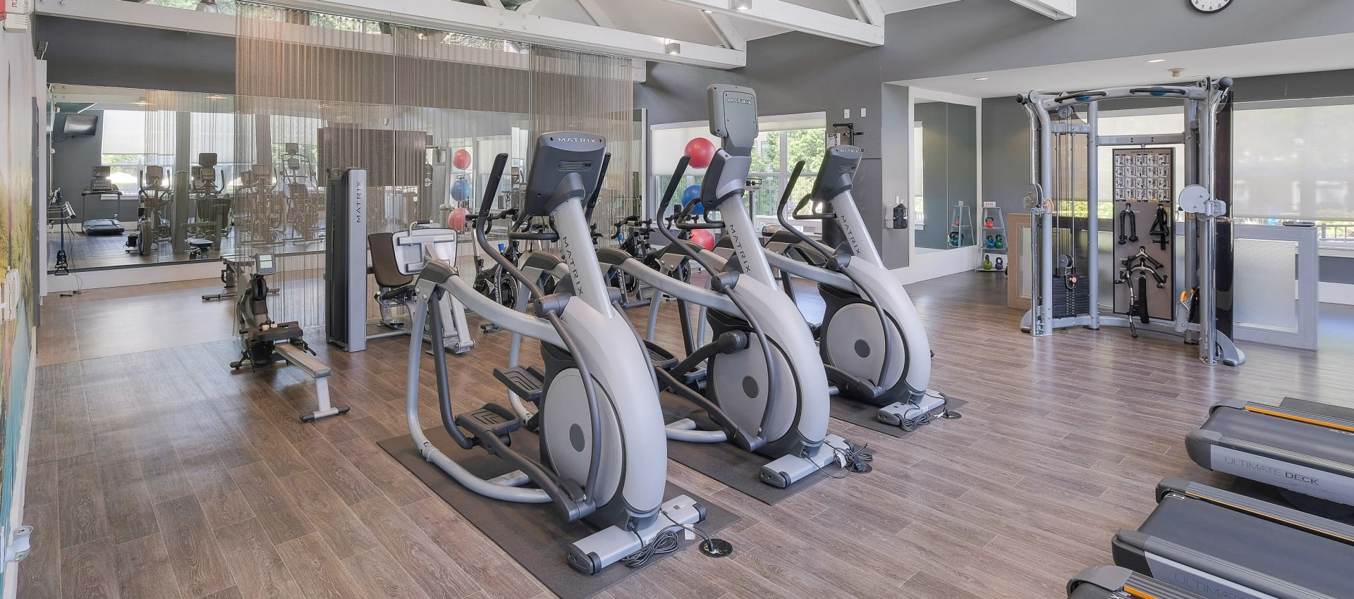 24-Hour Fitness Center at Centro Apartment Homes
