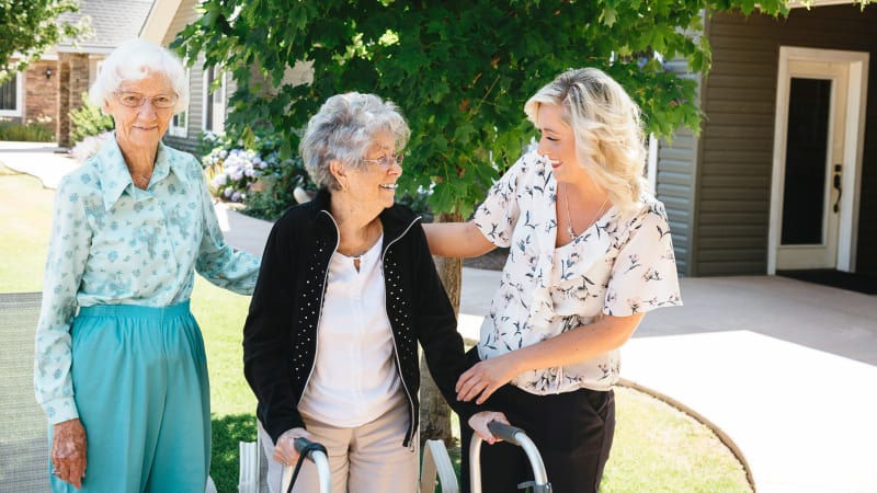 Residents at Generations Assisted Living