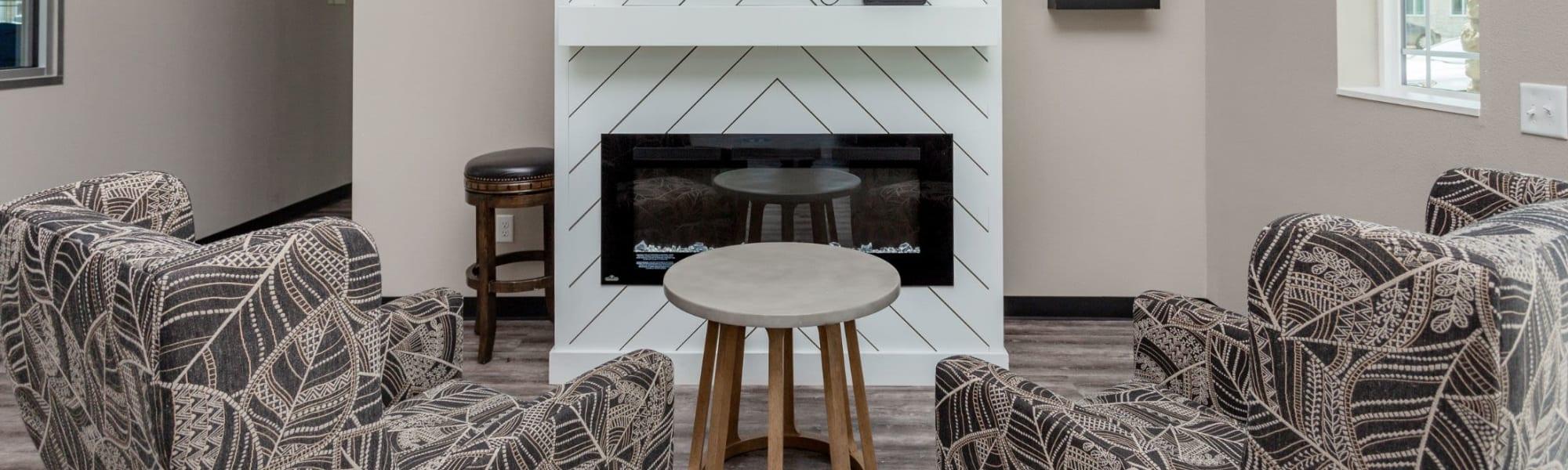 Urban luxury amenities at Autumn Ridge in Waukee, Iowa