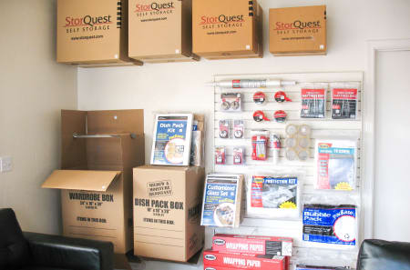 Storage Supplies at StorQuest Self Storage in Apache Junction, AZ
