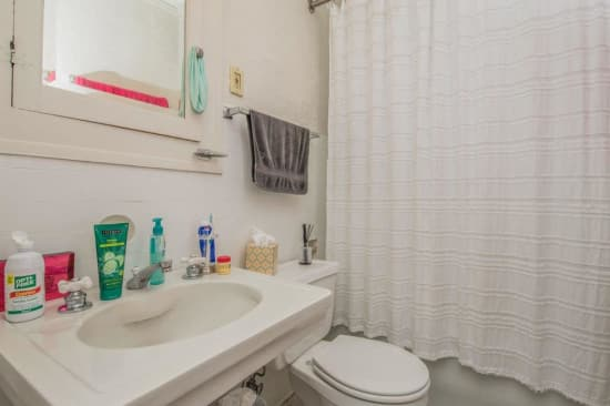 Bathroom at Alta Casa in Des Moines, Iowa