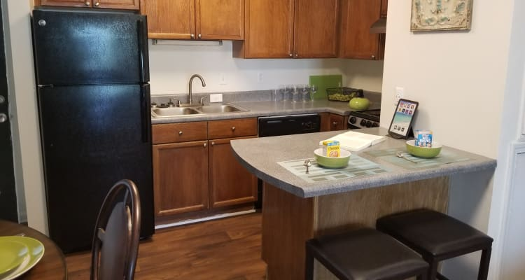 Kitchen at Claypond Commons in Myrtle Beach, South Carolina