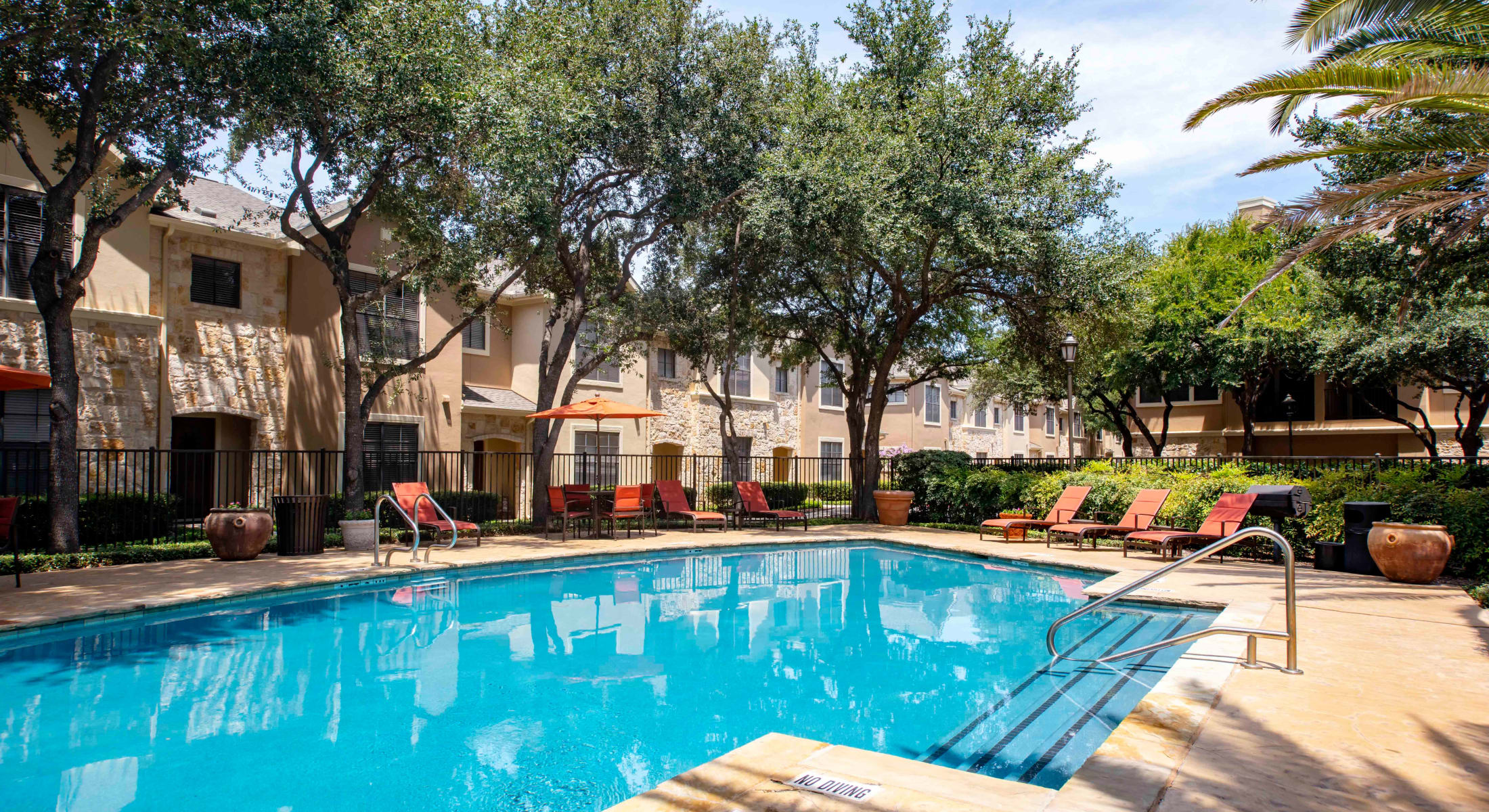 Outdoor Swimming Pool at The Quarry Townhomes