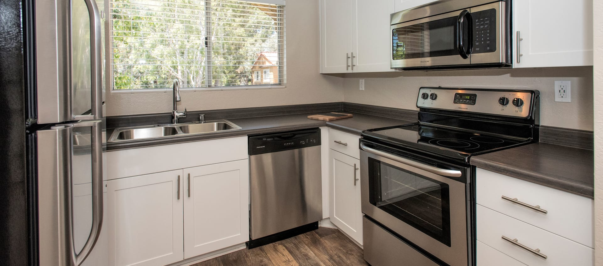 Beautiful kitchen at Hidden Hills Condominium Rentals in Laguna Niguel, California