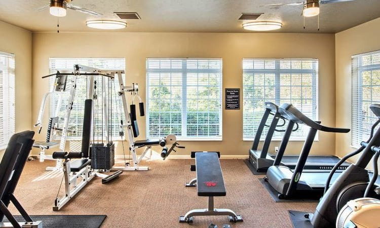 Stay healthy in our fitness center at Waterford Nevillewood Apartments