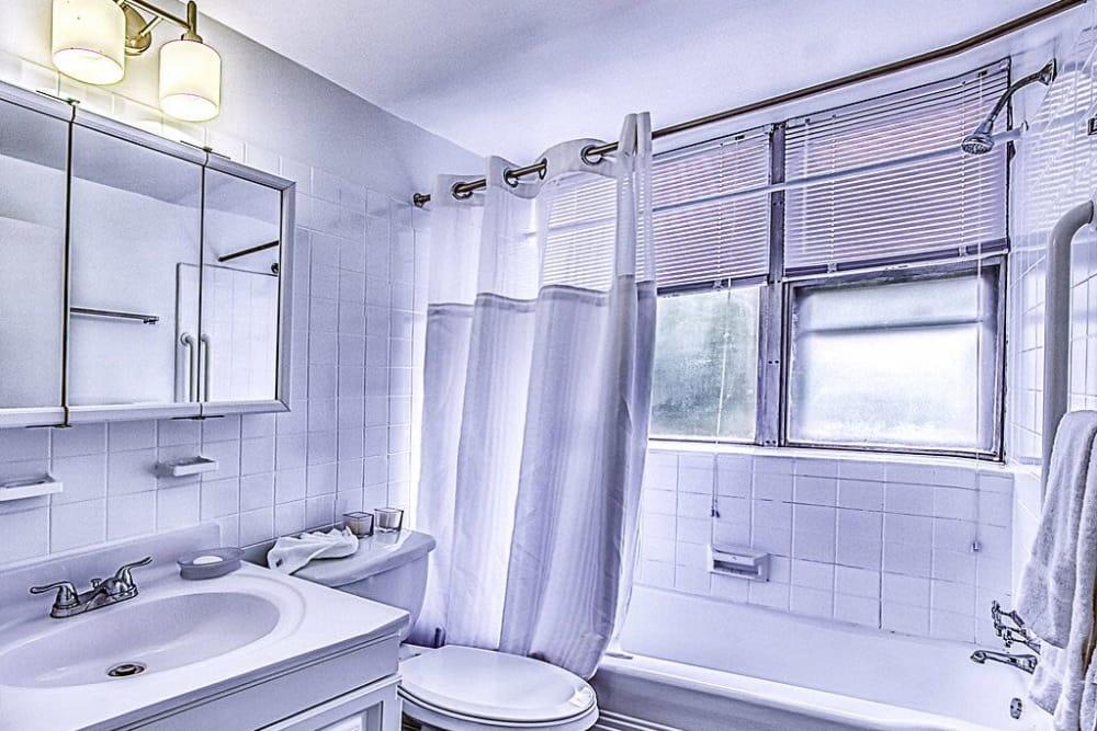 Bathroom at Cherokee Apartments