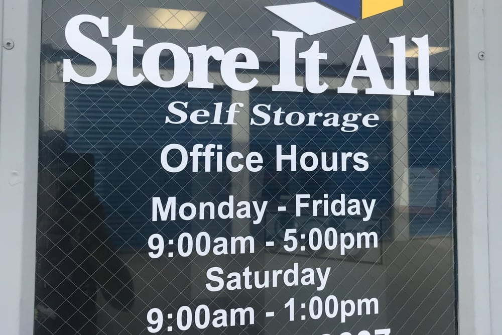 Office at Store It All Self Storage - McPherson in Laredo, TX