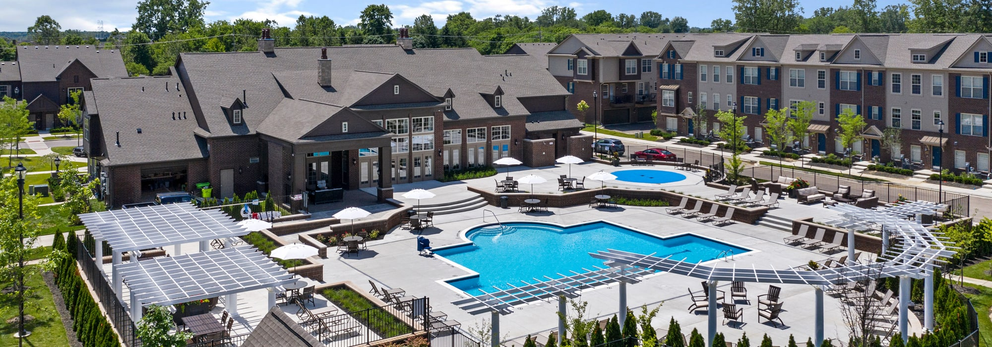 Apartments at Park West in Canton, Michigan