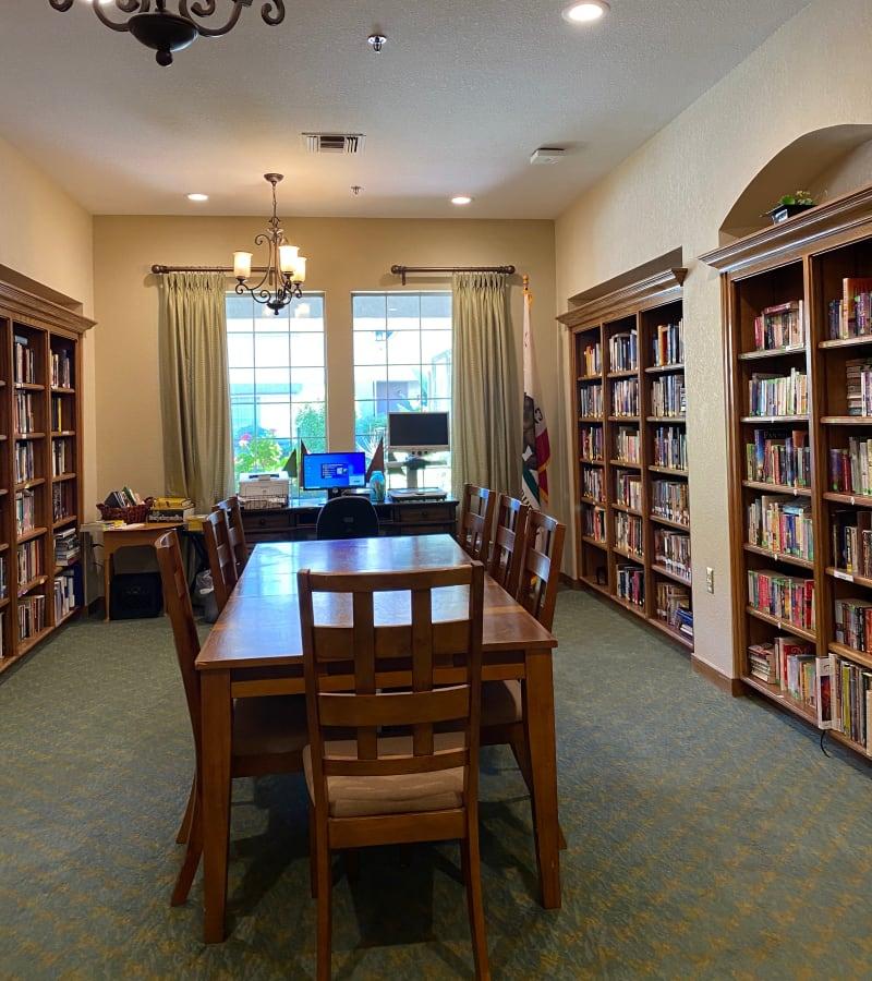 Community room at Pacifica Senior Living Fresno in Fresno, California