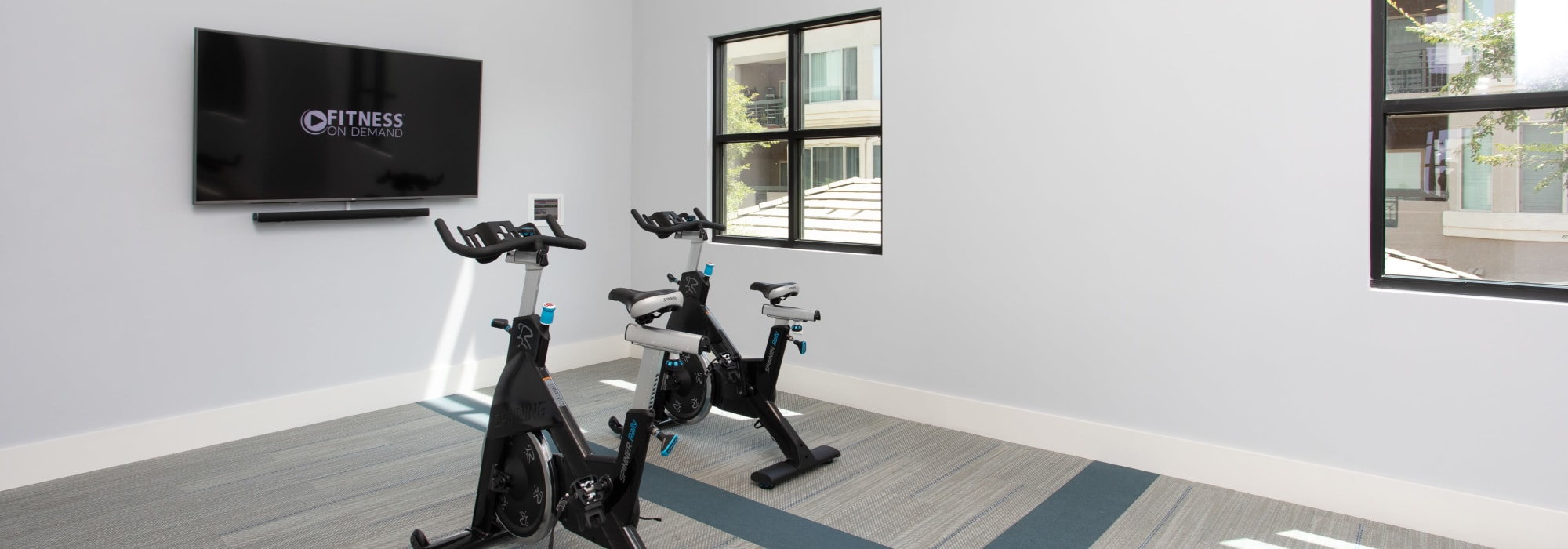 Fitness center at Lakeside Drive Apartments in Tempe, Arizona