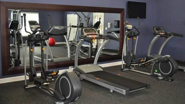 State of the art fitness center at Pavilion at Plantation Way