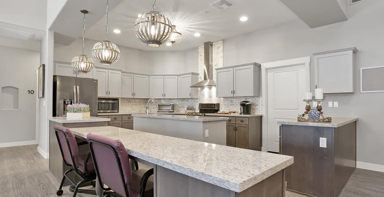 Kitchen at Hacienda Del Rey in Litchfield Park, Arizona