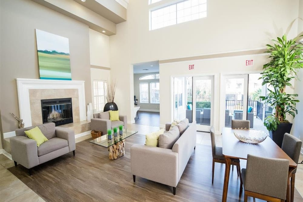 Resident clubhouse at Shaliko in Rocklin, California.
