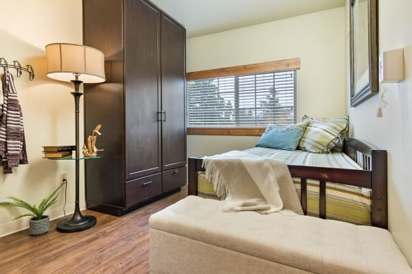 Bedroom at Mill View Memory Care in Bend, Oregon