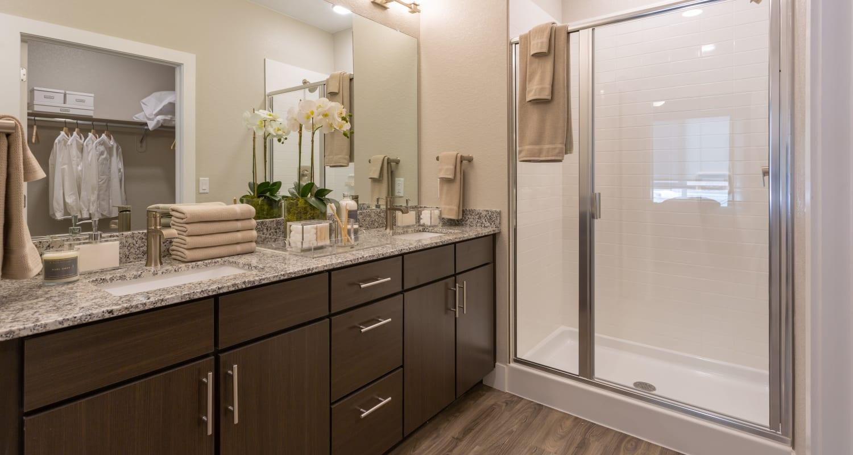 Large bathroom at FalconView in Colorado Springs, Colorado
