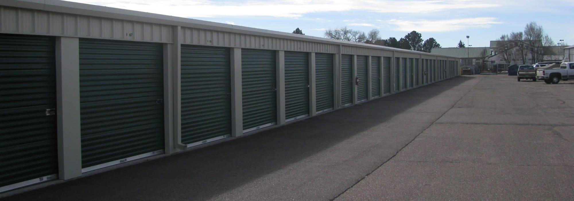 Self storage in Colorado Springs CO