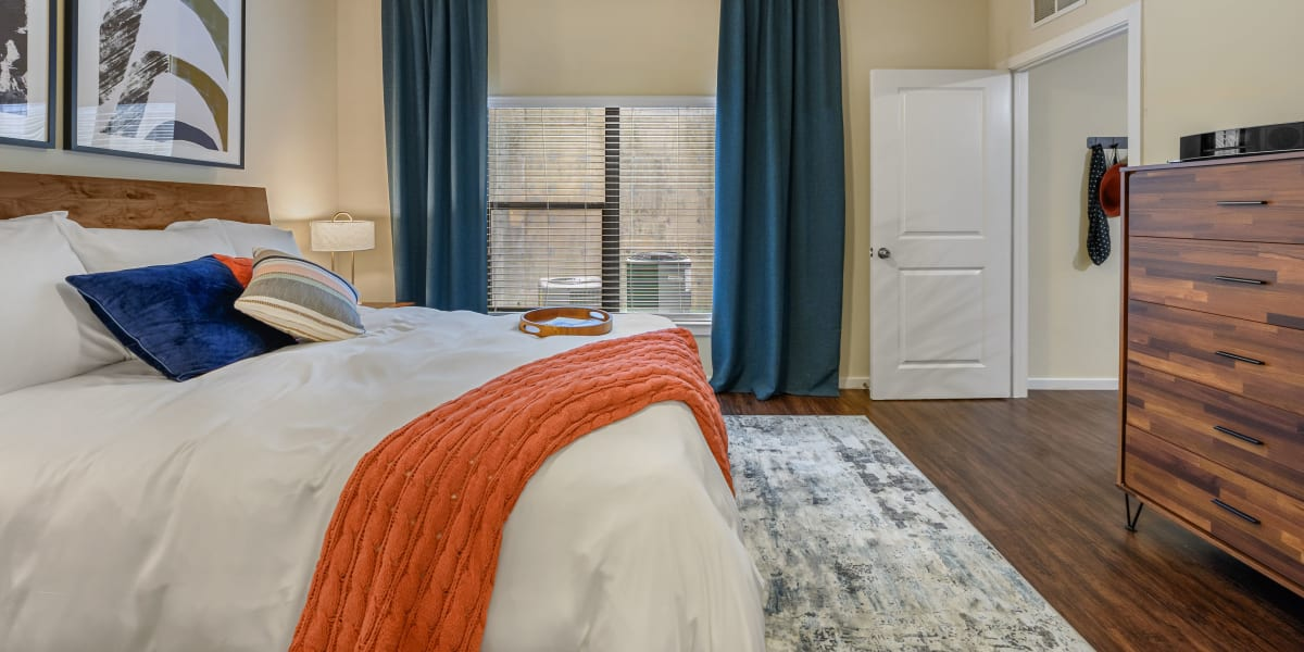 Bedroom at Marquis SoCo in Austin, Texas