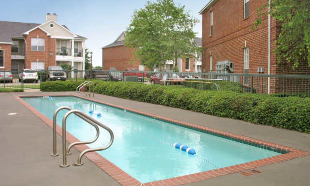Lap lane pool at Champion Lake Apartment Homes in Shreveport, Louisiana