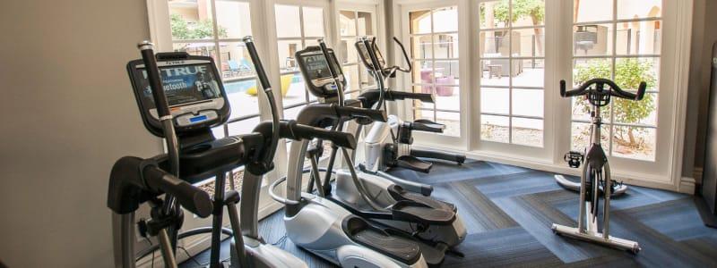 Fitness center at 4127 Arcadia in Phoenix, Arizona