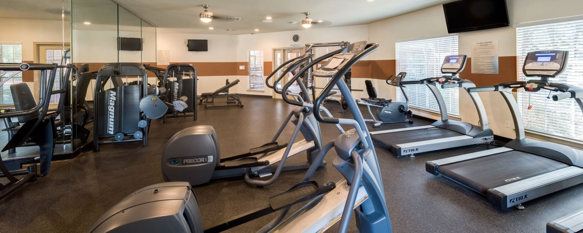 Fitness center at The Paramount