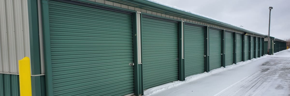 Unit size guide from KO Storage of Alexandria - North in Alexandria, Minnesota