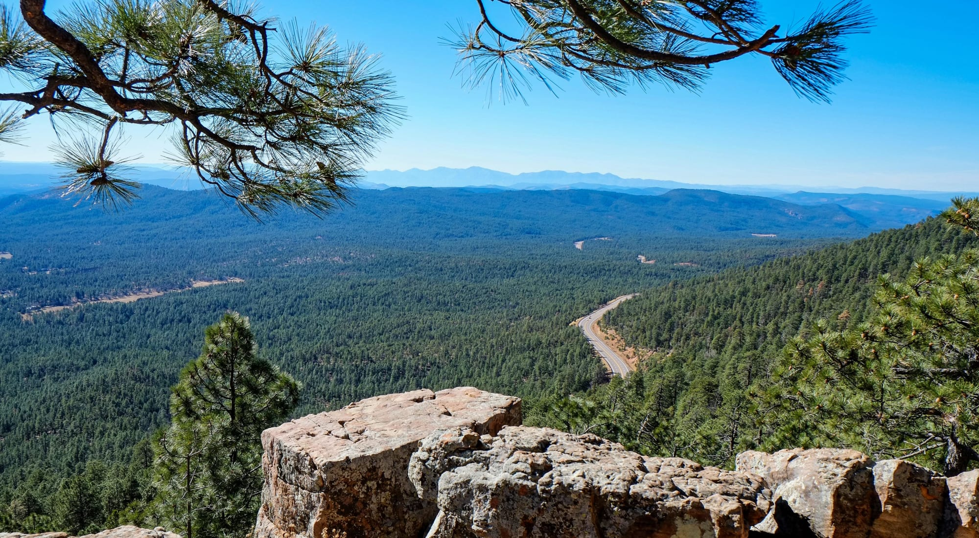A wilderness landscape near Majestic Rim Retirement Living