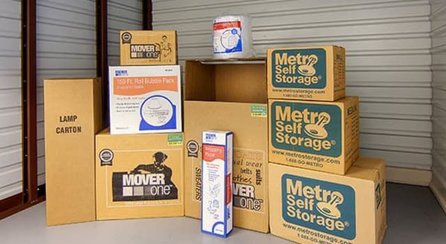Packing supplies offered at Metro Self Storage in Wood-Ridge, New Jersey