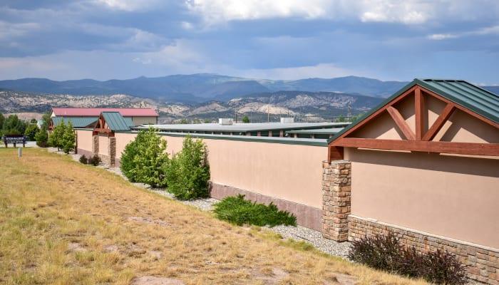 The exterior of STOR-N-LOCK Self Storage in Gypsum, Colorado
