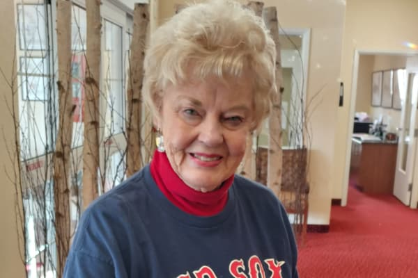 Ruth August at Fairview Estates Gracious Retirement Living in Hopkinton, Massachusetts
