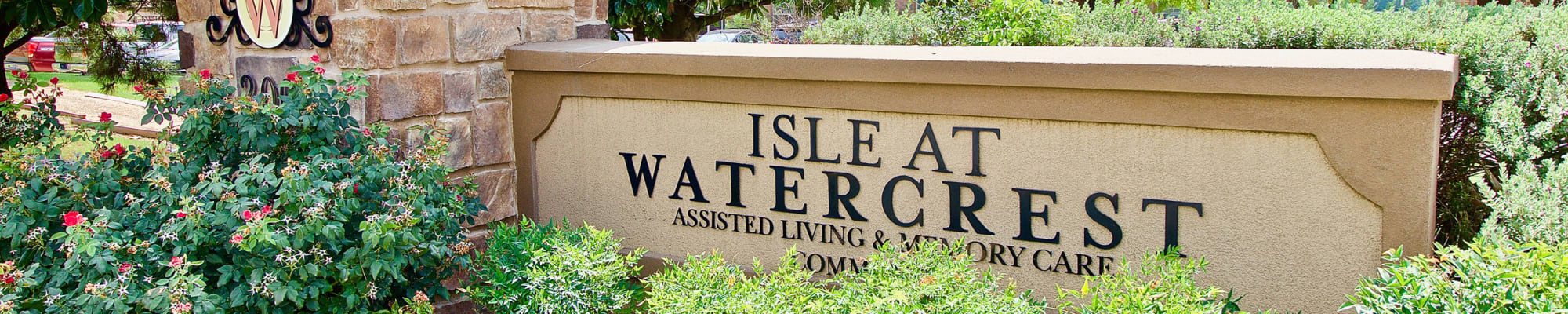 Assisted living at Isle at Watercrest Mansfield in Mansfield, Texas