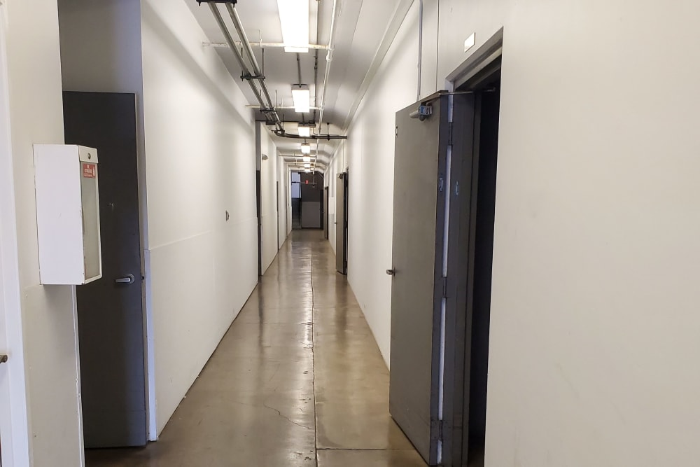 Interior units at StorQuest Self Storage in Torrance, CA