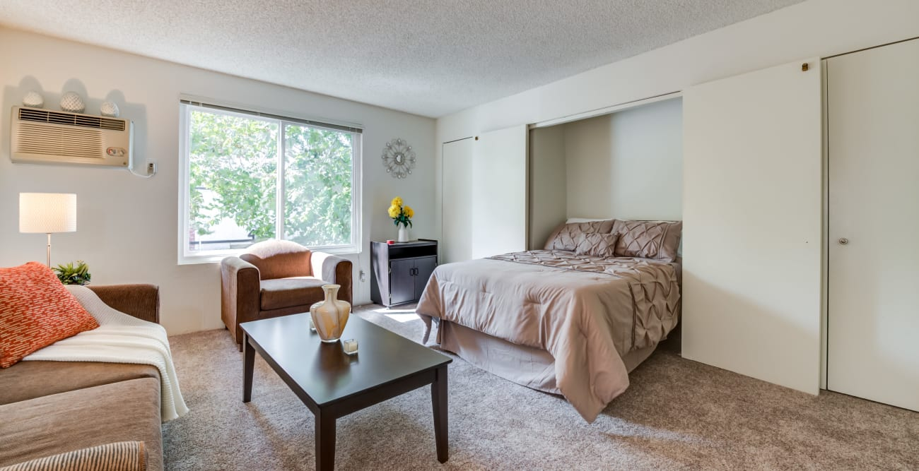 Studio apartment with murphy bed at Vista Pointe I in Studio City, California