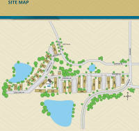 Sitemap for The Palms at Casselberry in Florida